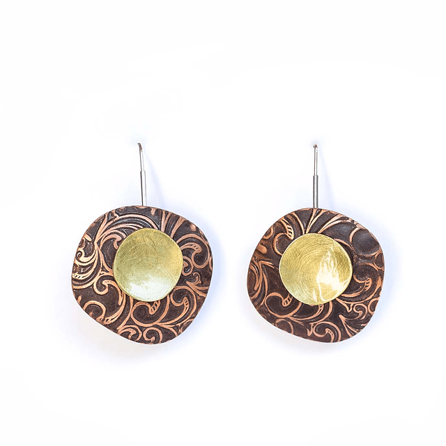 Aro Kaaro textura con bronce