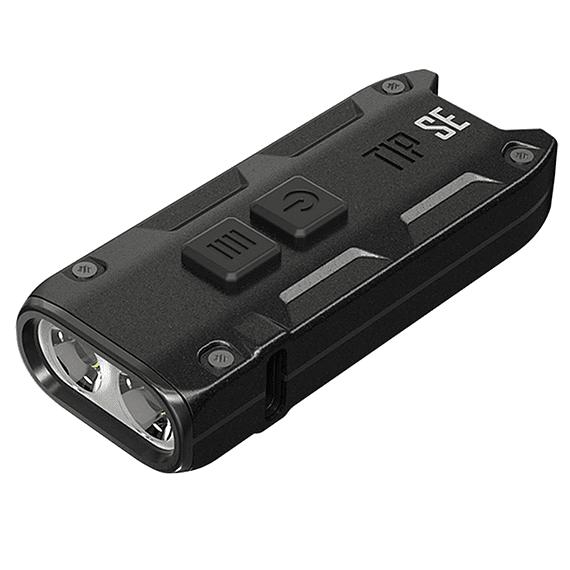 Linterna Compacta LED Nitecore 700 lúmenes Recargable USB TIP SE Negro- Image 1