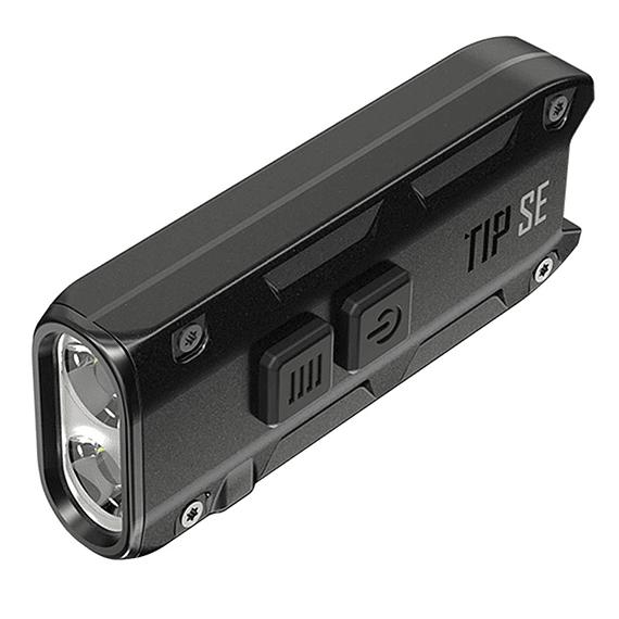 Linterna Compacta LED Nitecore 700 lúmenes Recargable USB TIP SE Negro- Image 2