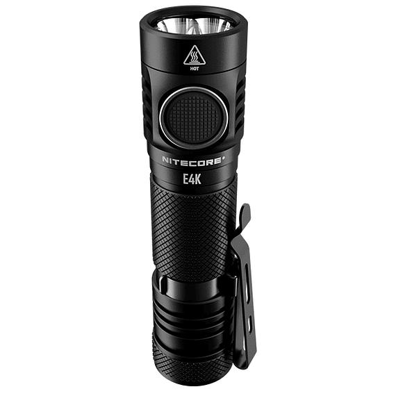 Linterna LED Nitecore 4400 lúmenes Recargable USB E4K- Image 3