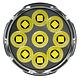 Linterna LED Nitecore 9500 lúmenes Recargable USB TM9K - Image 5