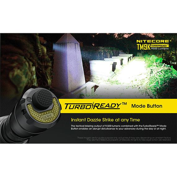 Linterna LED Nitecore 9500 lúmenes Recargable USB TM9K- Image 23