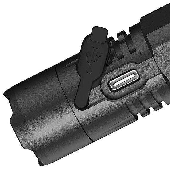Linterna LED Nitecore 1200 lúmenes Recargable USB MH10 V2- Image 6