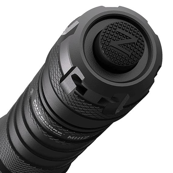 Linterna LED Nitecore 1200 lúmenes Recargable USB MH12 V2- Image 4