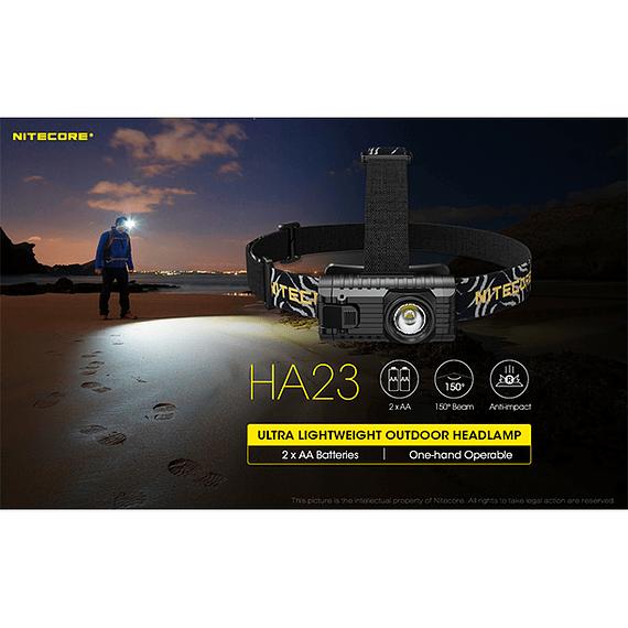 Linterna Frontal LED Nitecore 250 lúmenes USB HA23- Image 16