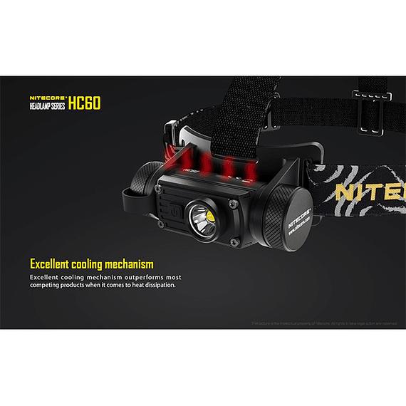 Linterna Frontal LED Nitecore 1000 lúmenes Recargable USB HC60- Image 18