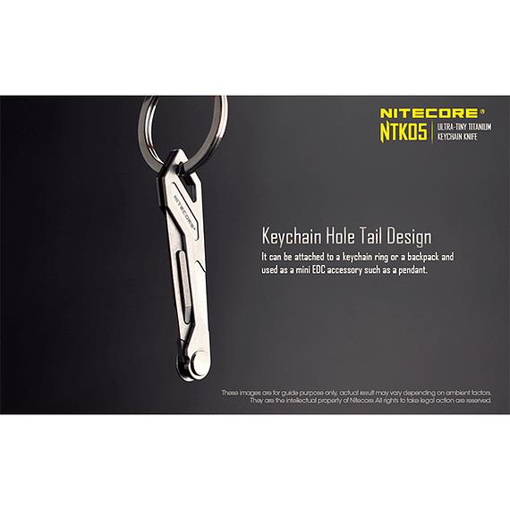 Cuchillo Ultra Compacto Nitecore Titanio NTK05- Image 15