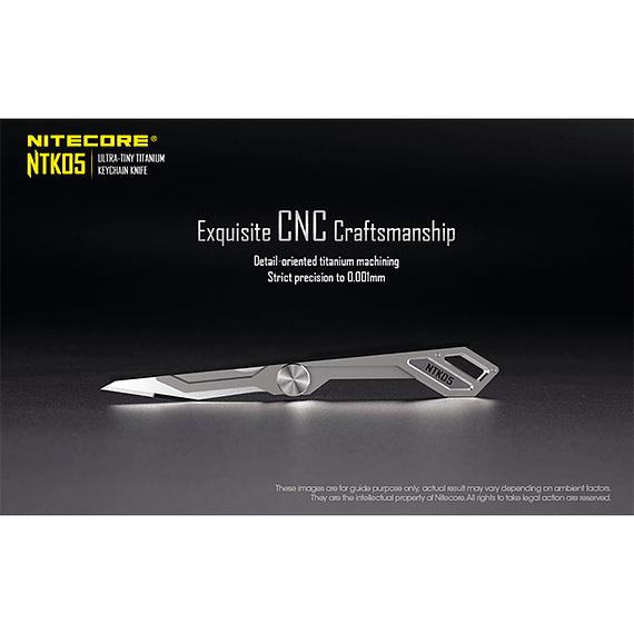 Cuchillo Ultra Compacto Nitecore Titanio NTK05- Image 16
