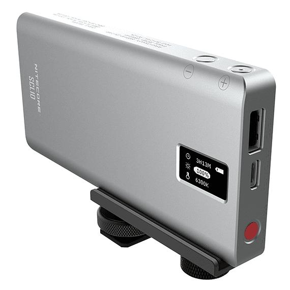 Foco LED y Cargador Nitecore 800 lúmenes SCL10- Image 5