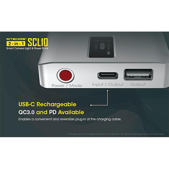 Foco LED y Cargador Nitecore 800 lúmenes SCL10- Image 9