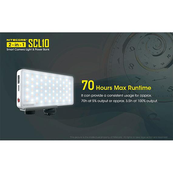 Foco LED y Cargador Nitecore 800 lúmenes SCL10- Image 11