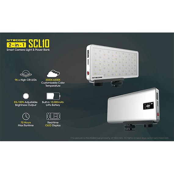 Foco LED y Cargador Nitecore 800 lúmenes SCL10- Image 13