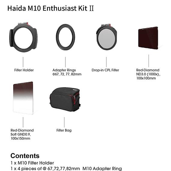 Kit Filtros y Portafiltros Haida Enthusiast Kit II 100mm M10- Image 6