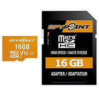 Tarjeta Memoria Spypoint 16GB MicroSD con Adaptador