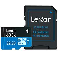 Tarjeta Memoria Lexar 32GB Micro SDHC High-Performance 633x UHS-I