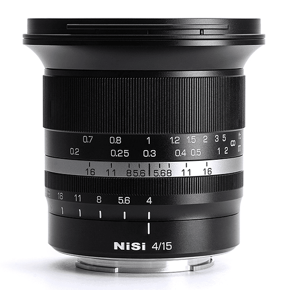 Lente NiSi 15mm f/4 Sunstar Gran Angular ASPH para Sony E- Image 2