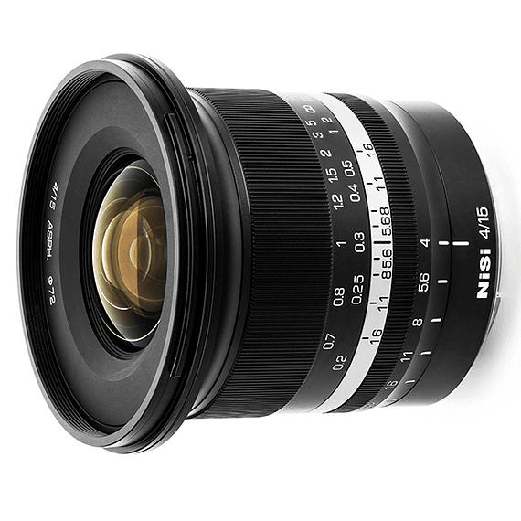 Lente NiSi 15mm f/4 Sunstar Gran Angular ASPH para Sony E- Image 3