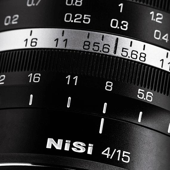 Lente NiSi 15mm f/4 Sunstar Gran Angular ASPH para Sony E- Image 5