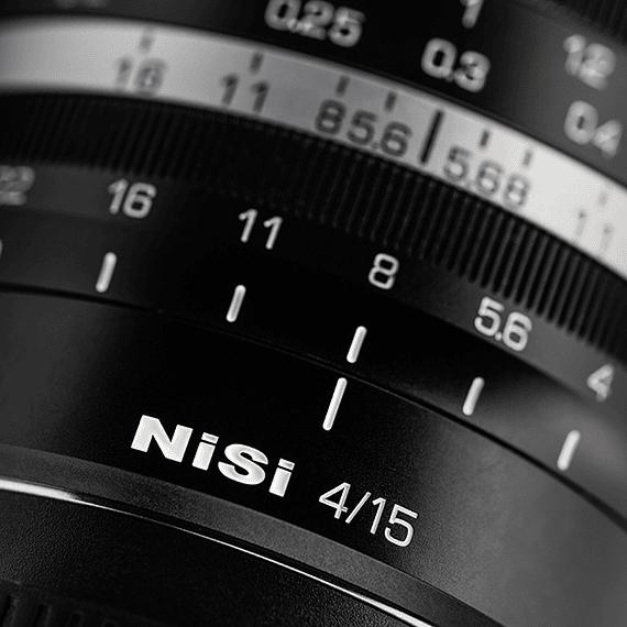 Lente NiSi 15mm f/4 Sunstar Gran Angular ASPH para Sony E- Image 6