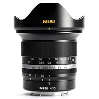 Lente NiSi 15mm f/4 Sunstar Gran Angular ASPH para Canon RF