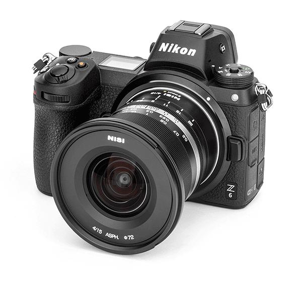 Lente NiSi 15mm f/4 Sunstar Gran Angular ASPH para Nikon Z- Image 11