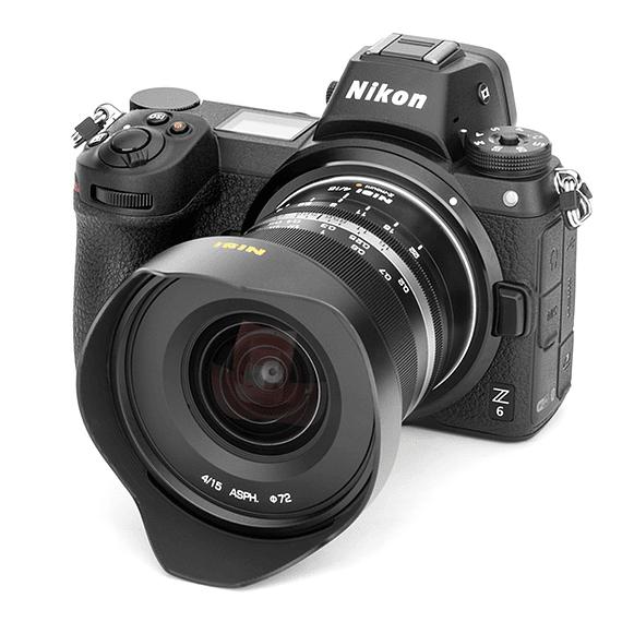 Lente NiSi 15mm f/4 Sunstar Gran Angular ASPH para Nikon Z- Image 12