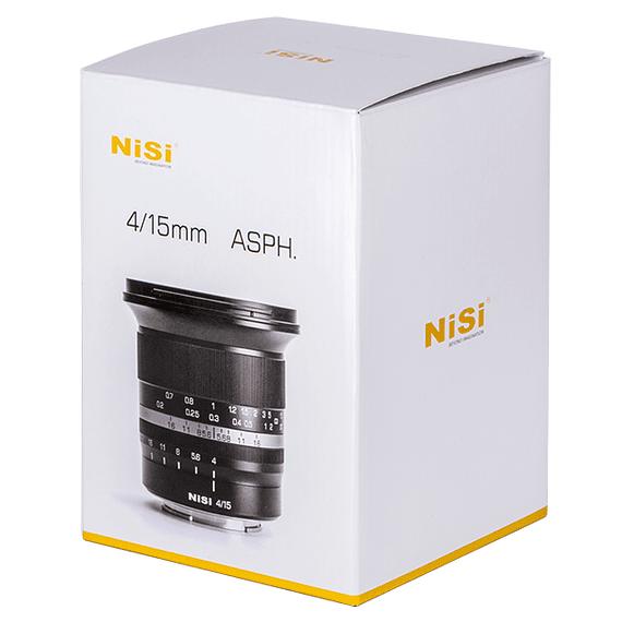 Lente NiSi 15mm f/4 Sunstar Gran Angular ASPH para Nikon Z- Image 23