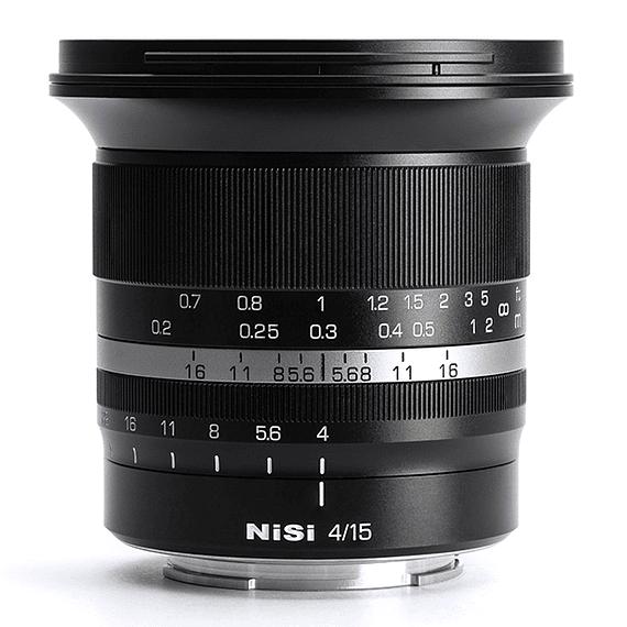 Lente NiSi 15mm f/4 Sunstar Gran Angular ASPH para Fujifilm X- Image 2