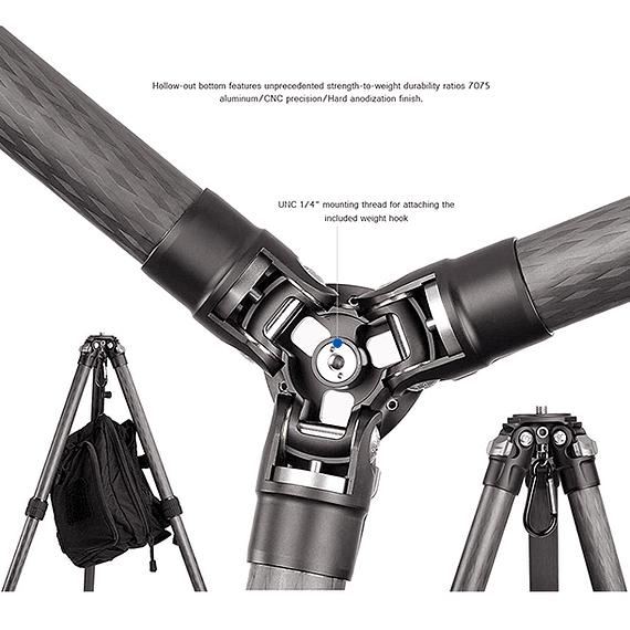 Trípode Carbono Leofoto Ranger 4 Sec. LS-364C- Image 6