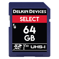 Tarjeta Memoria Delkin Devices 64GB SDXC Select 660x UHS-I