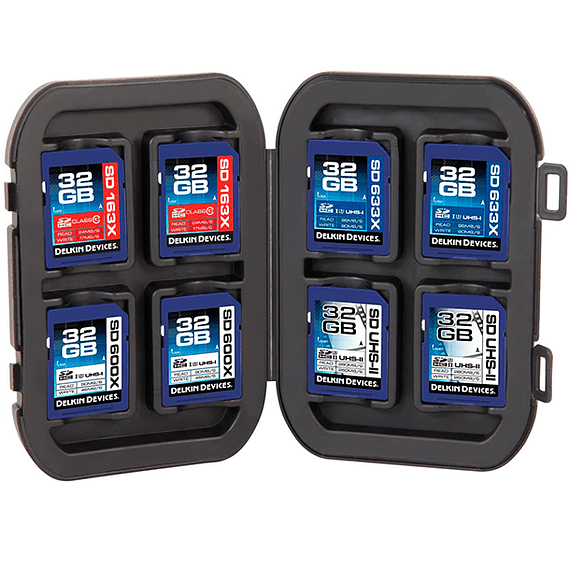 Caja Delkin Devices Card Tote Impermeable para Memorias SD- Image 3
