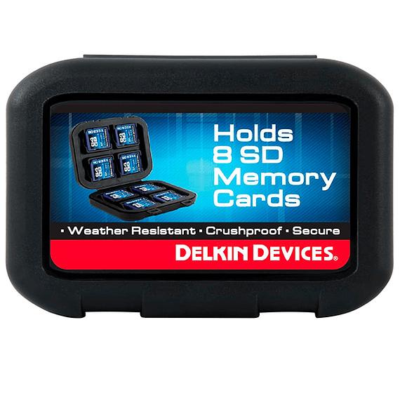 Caja Delkin Devices Card Tote Impermeable para Memorias SD- Image 4