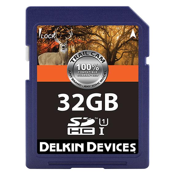 Tarjeta Memoria Delkin Devices 32GB SDHC UHS-I para Cámara Trampa- Image 1