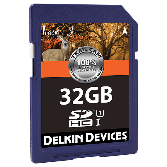 Tarjeta Memoria Delkin Devices 32GB SDHC UHS-I para Cámara Trampa- Image 2