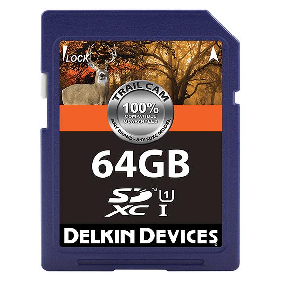 Tarjeta Memoria Delkin Devices 64GB SDXC UHS-I para Cámara Trampa- Image 1