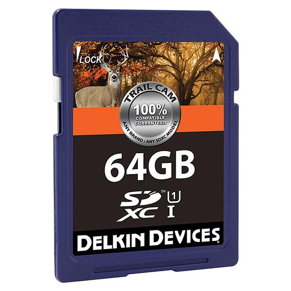 Tarjeta Memoria Delkin Devices 64GB SDXC UHS-I para Cámara Trampa- Image 2