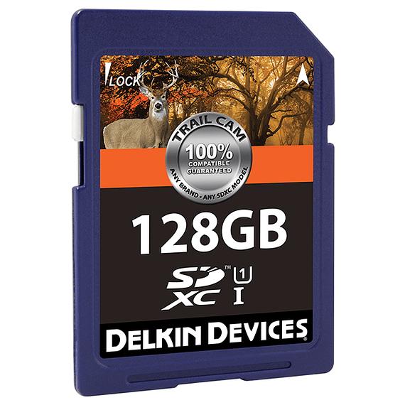 Tarjeta Memoria Delkin Devices 128GB SDXC UHS-I para Cámara Trampa- Image 2
