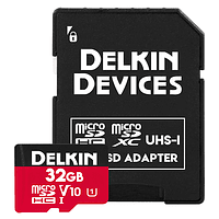 Tarjeta Memoria Delkin Devices 32GB Micro SDHC Select 660x UHS-I