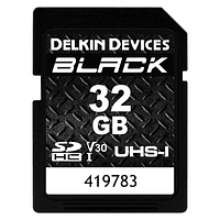 Tarjeta Memoria Delkin Devices 32GB SDHC Black Rugged UHS-I