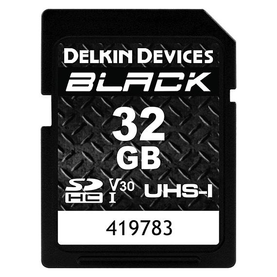 Tarjeta Memoria Delkin Devices 32GB SDHC Black Rugged UHS-I- Image 1