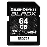 Tarjeta Memoria Delkin Devices 64GB SDXC Black Rugged UHS-I