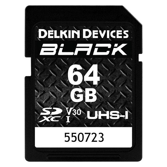 Tarjeta Memoria Delkin Devices 64GB SDXC Black Rugged UHS-I- Image 1