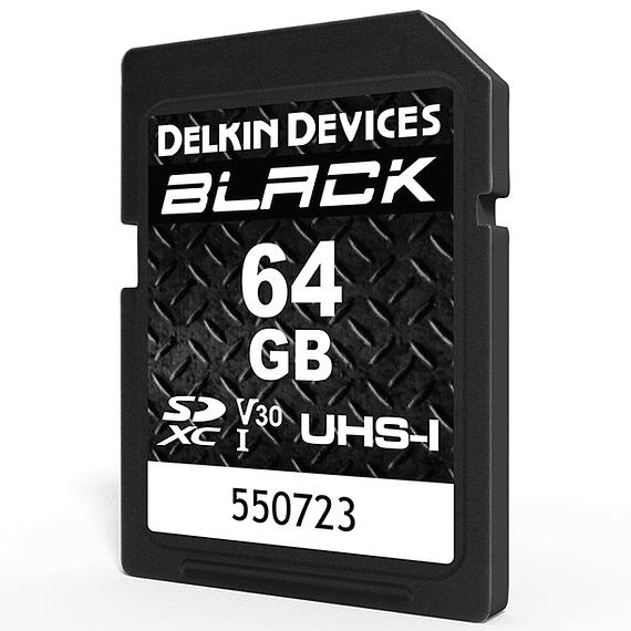 Tarjeta Memoria Delkin Devices 64GB SDXC Black Rugged UHS-I- Image 2