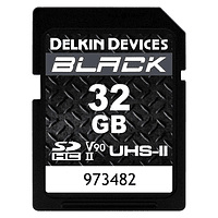 Tarjeta Memoria Delkin Devices 32GB SDHC Black Rugged UHS-II