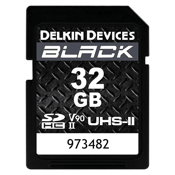 Tarjeta Memoria Delkin Devices 32GB SDHC Black Rugged UHS-II- Image 1