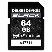 Tarjeta Memoria Delkin Devices 64GB SDXC Black Rugged UHS-II