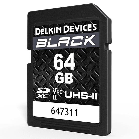 Tarjeta Memoria Delkin Devices 64GB SDXC Black Rugged UHS-II- Image 2