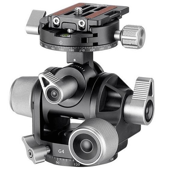 Cabezal de Engranajes Leofoto Geared G4- Image 1
