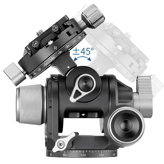 Cabezal de Engranajes Leofoto Geared G4- Image 5