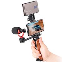 Soporte/Empuñadura Leofoto Kit para Teléfono y Accesorios VC-1